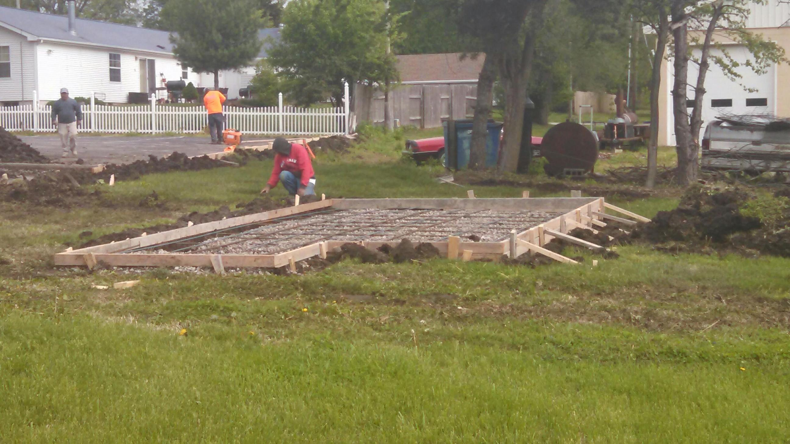 LOUISBURG PROJECT-HUT FOUNDATION